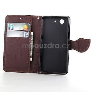 Leaf peněženkové pouzdro na Sony Xperia Z3 Compact - černé - 4