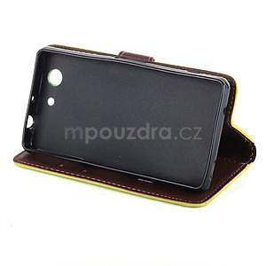 Leaf peněženkové pouzdro na Sony Xperia Z3 Compact - zelené - 4
