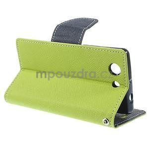 Diary peněženkové pouzdro na mobil Sony Xperia Z3 Compact - zelené - 4