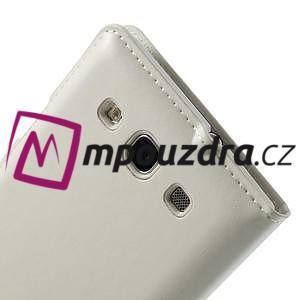 Luxusní pěněženkové pouzdro na Samsung Galaxy S3 i9300 - bílé - 4