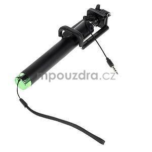 GX automatická selfie tyč se spínačem - zelená - 4