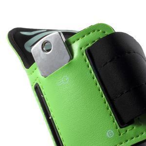 Fittsport pouzdro na ruku pro mobil do rozměrů 143.4 x 70,5 x 6,8 mm - zelené - 4