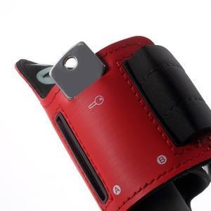 Fittsport pouzdro na ruku pro mobil do rozměrů 143.4 x 70,5 x 6,8 mm - červené - 4