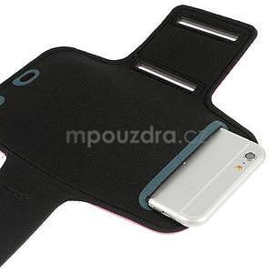 Soft pouzdro na mobil vhodné pro telefony do 160 x 85 mm - rose - 4