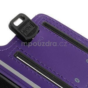 Soft pouzdro na mobil vhodné pro telefony do 160 x 85 mm - fialové - 4