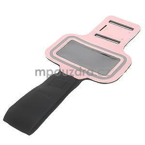 Jogy běžecké pouzdro na mobil do 125 x 60 mm - růžové - 4