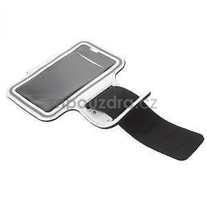 Gymfit sportovní pouzdro pro telefon do 125 x 60 mm - bílé - 4