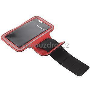 Gymfit sportovní pouzdro pro telefon do 125 x 60 mm - červené - 4
