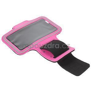 Gymfit sportovní pouzdro pro telefon do 125 x 60 mm - rose - 4
