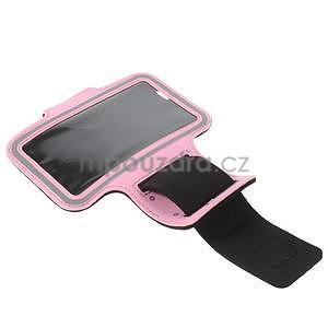 Gymfit sportovní pouzdro pro telefon do 125 x 60 mm - růžové - 4