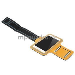 Gymfit sportovní pouzdro pro telefon do 125 x 60 mm - oranžové - 4