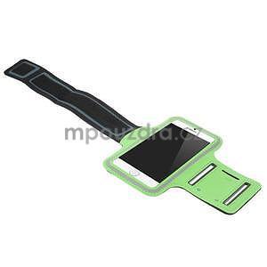 Gymfit sportovní pouzdro pro telefon do 125 x 60 mm - zelené - 4