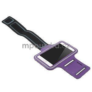 Gymfit sportovní pouzdro pro telefon do 125 x 60 mm - fialové - 4
