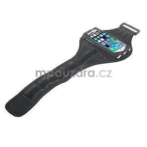 Absorb sportovní pouzdro na telefon do velikosti 125 x 60 mm - černé - 4