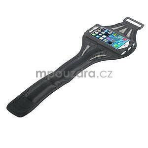 Absorb sportovní pouzdro na telefon do velikosti 125 x 60 mm - šedé - 4