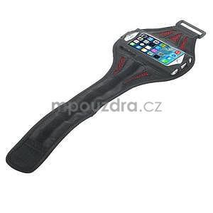 Absorb sportovní pouzdro na telefon do velikosti 125 x 60 mm - červené - 4