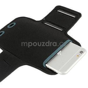 Soft pouzdro na mobil vhodné pro telefony do 160 x 85 mm - šedé - 4