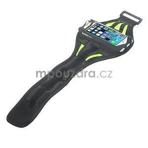 Absorb sportovní pouzdro na telefon do velikosti 125 x 60 mm - zelené - 4