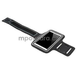 Běžecké pouzdro na ruku pro mobil do velikosti 152 x 80 mm - černé - 4