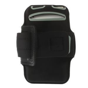 Všestranné pouzdro na ruku do rozměru telefonu 146 x 73 mm - černé - 4
