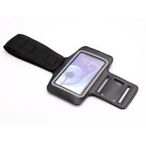 Sportovní pouzdro na ruku až do velikosti mobilu 140 x 70 mm - černé - 4