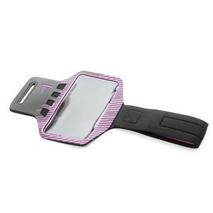 Sports Gym pouzdo na ruku pro velikost mobilu až 140 x 70 mm - rose - 4