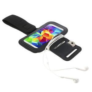 FitGym pouzdro na ruku pro telefon až do velikosti 145 x 73 mm - černé - 4