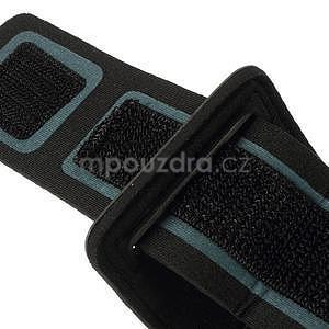 Soft pouzdro na mobil vhodné pro telefony do 160 x 85 mm - světle modré - 4