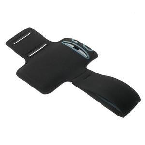 Fitsport pouzdro na ruku pro mobil do velikosti až 145 x 73 mm - fialové - 4