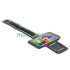 Run běžecké pouzdro na mobil do velikosti 131 x 65 mm - černé - 4