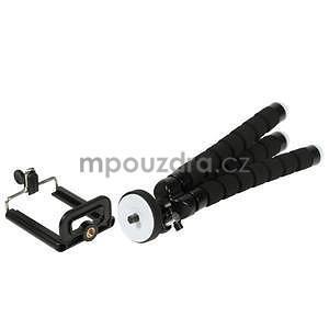 Trojnožkový stativ pro mobilní telefony - černý - 4