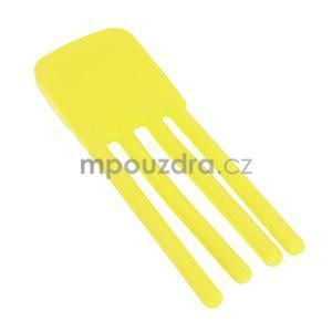 Tvarovatelný stojánek na mobil, žlutý - 4
