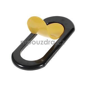 Polohovatelný stojánek na mobil, žlutý - 4