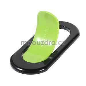 Polohovatelný stojánek na mobil, zelený - 4