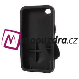 Silikonové pouzdro na iPod Touch 4 - hnědá sova - 4
