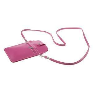 Univerzální pouzdro/kapsička na mobil do rozměru 180 x 110 mm - rose - 4
