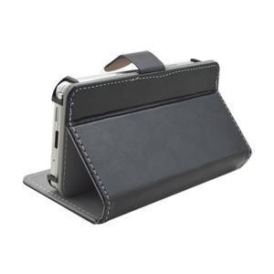 Univerzální peněženkové pouzdro do 159 x 79 mm - černé - 4