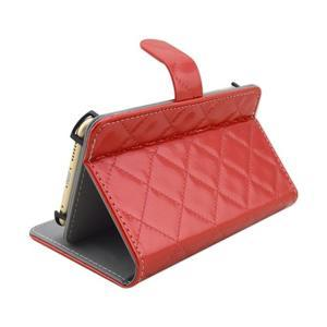 Luxury univerzální pouzdro na mobil do 148 x 76 x 21 mm - červené - 4