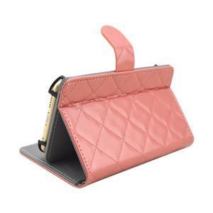 Luxury univerzální pouzdro na mobil do 148 x 76 x 21 mm - růžové - 4