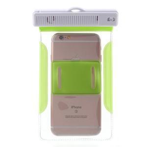 Nox7 vodotěsný obal na mobil do rozměru 16.5 x 9.5 cm - zelený - 4