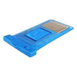 Base IPX8 vodotěsný obal na mobil do 158 x 78 mm - modrý - 4