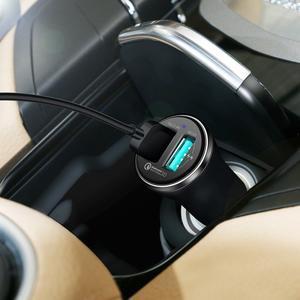 Autonabíječka pro super rychlé nabíjení a vysokorychlostní nabíjení se 2 výstupy USB / 5.4 A - 4