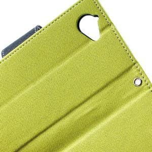 Mr. Fancy peněženkové pouzdro pro Sony Xperia L - zelené - 4