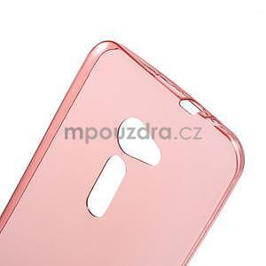 Ultra tenký slim gelový obal na Asus Zenfone 2 ZE500CL - červený - 4