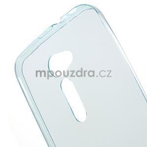 Ultra tenký slim gelový obal na Asus Zenfone 2 ZE500CL - světle modrý - 4