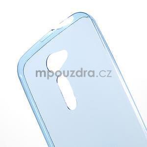 Ultra tenký slim gelový obal na Asus Zenfone 2 ZE500CL - modrý - 4