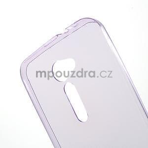 Ultra tenký slim gelový obal na Asus Zenfone 2 ZE500CL - fialový - 4