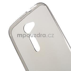 Ultra tenký slim gelový obal na Asus Zenfone 2 ZE500CL - šedý - 4