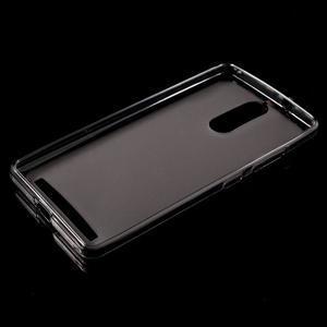 Matný gelový obal na mobil Lenovo K5 Note - šedý - 5