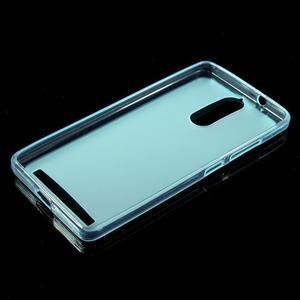 Matný gelový obal na mobil Lenovo K5 Note - modrý - 5